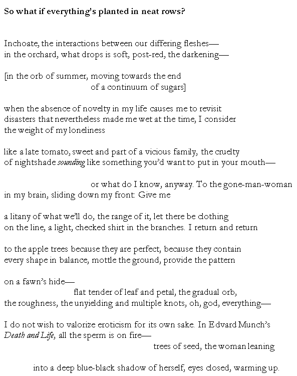 Erotic i i poem wish